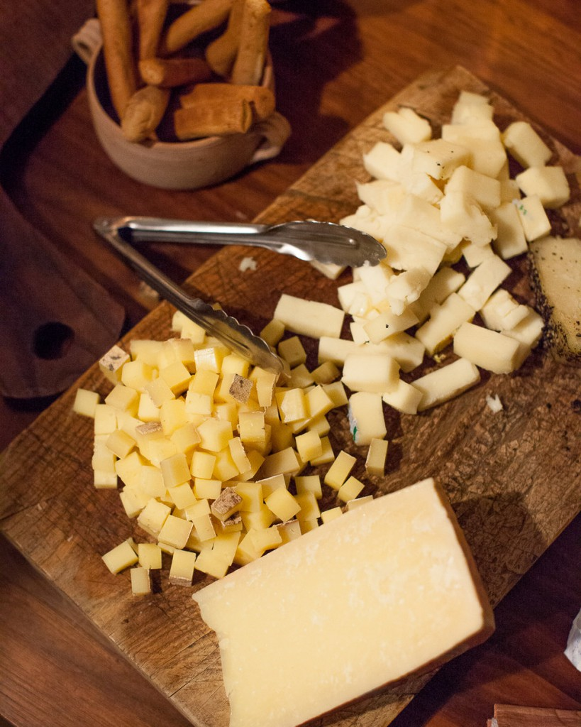 Alpine cheeses from Chaseholm Creamery